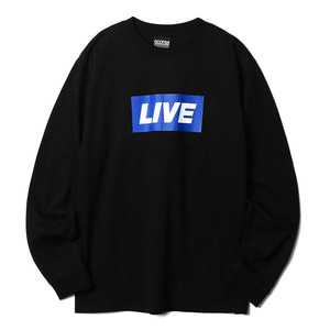 네스티팜, [NP] NEWS BANNER LONG SLEEVE BLACK (NP18A059H) - 풋셀스토어