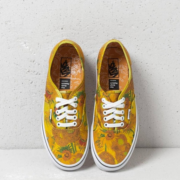 반스 어센틱(빈센트 고흐), Vans Classic Authentic Vincent van Gogh, VN0A38EMU3W - 풋셀스토어