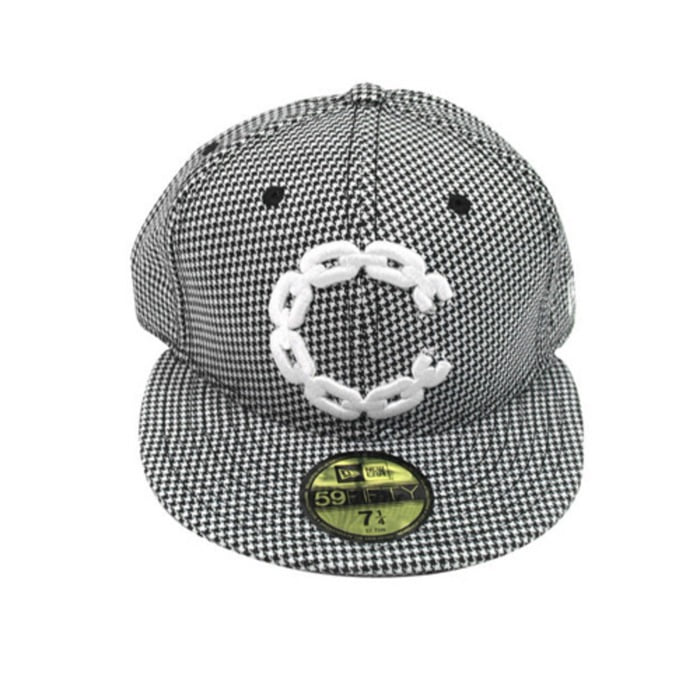 [크룩스앤캐슬]CROOKS & CASTLES CHAIN C CHECK FITTED CAP [1] - 풋셀스토어