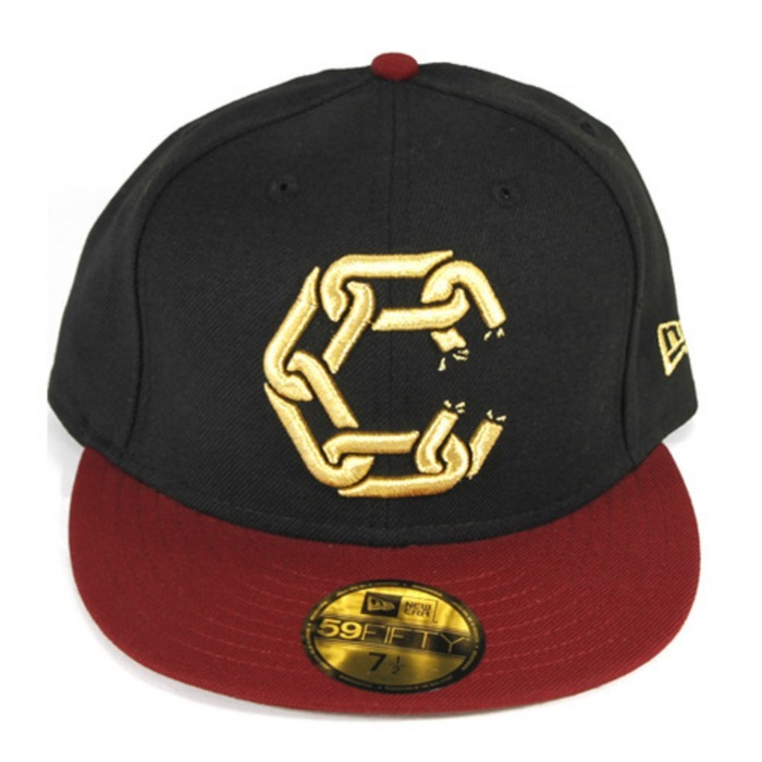 [크룩스앤캐슬]CROOKS & CASTLES New Chain Fitted Cap [3] - 풋셀스토어