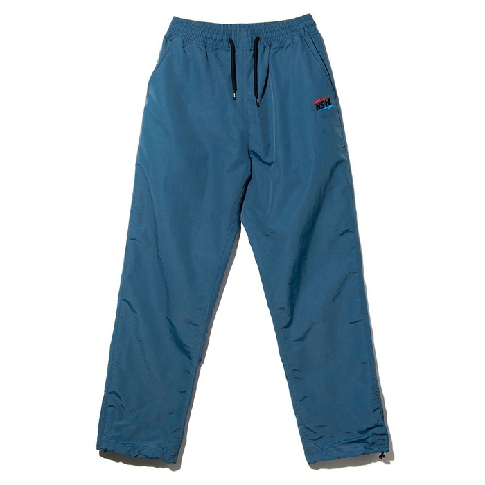 네스티킥, NSTK RB LT LOGO PANTS BLUE GREEN (NK18A068H) - 풋셀스토어