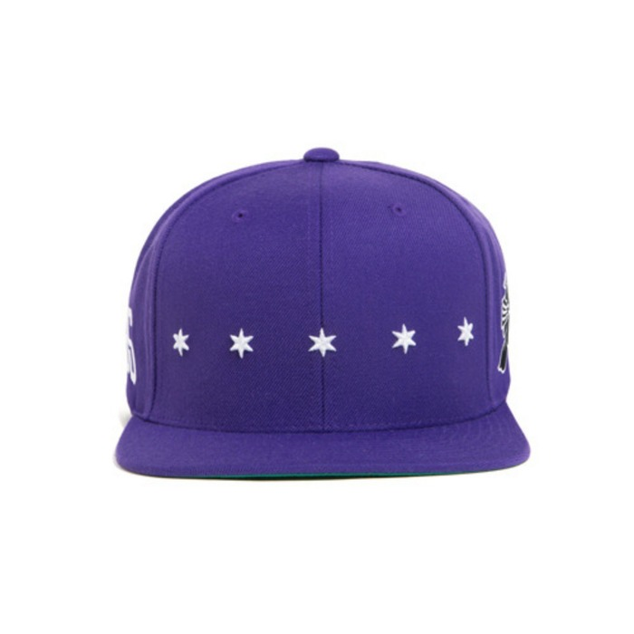 [블랙스케일]BLACK SCALE Star Spangle Snap Back - 풋셀스토어