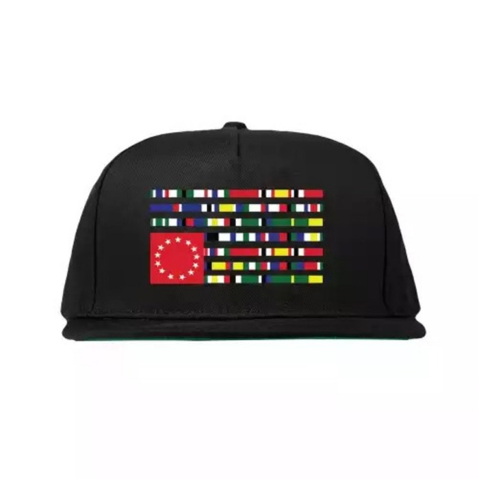 [블랙스케일]BLACK SCALE X DTA INTERNATIONAL HAT (Black) - 풋셀스토어