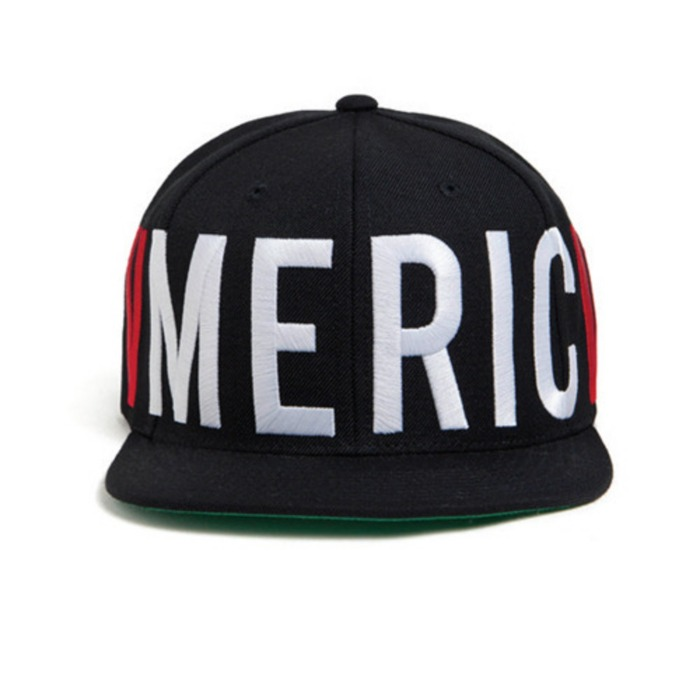 [블랙스케일]BLACK SCALE Old Glory Snapback (Black) - 풋셀스토어