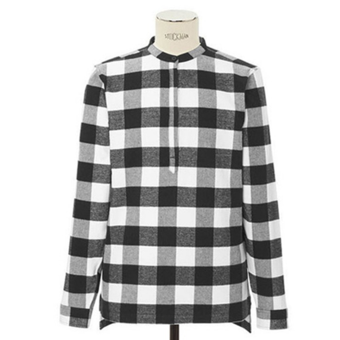 [도프]DOPE Buffalo Plaid Tunic - 풋셀스토어