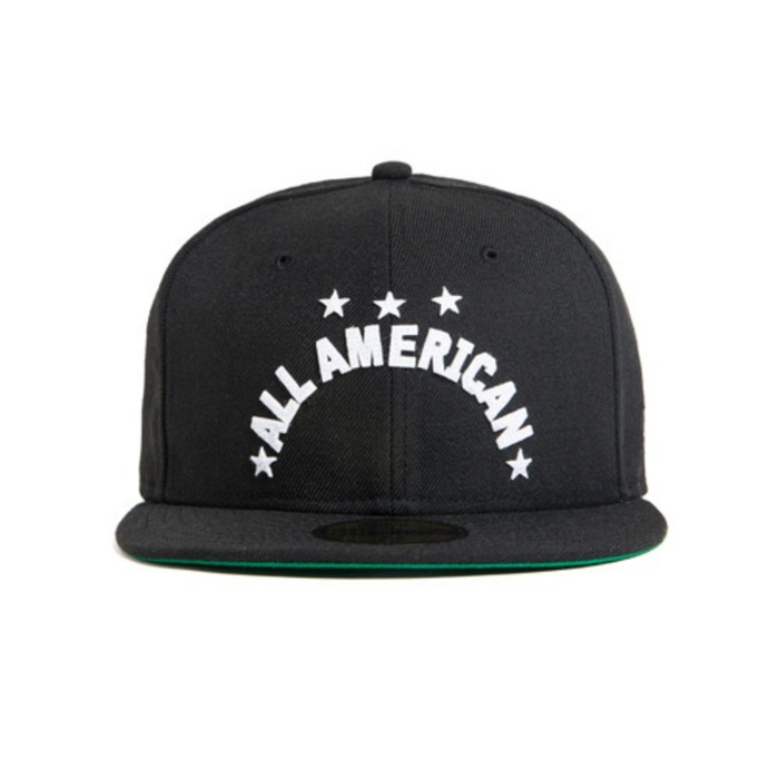 [블랙스케일]BLACK SCALE All American New Era, Black - 풋셀스토어