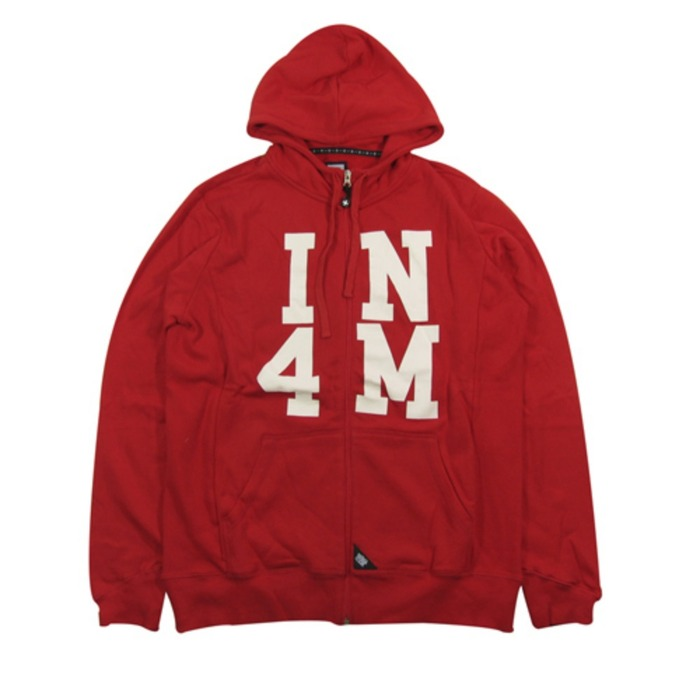[유에스에이머천다이징]U.S.A MERCHANDISING IN4MATION ELDRIDGE ZIP HOOD [1] - 풋셀스토어