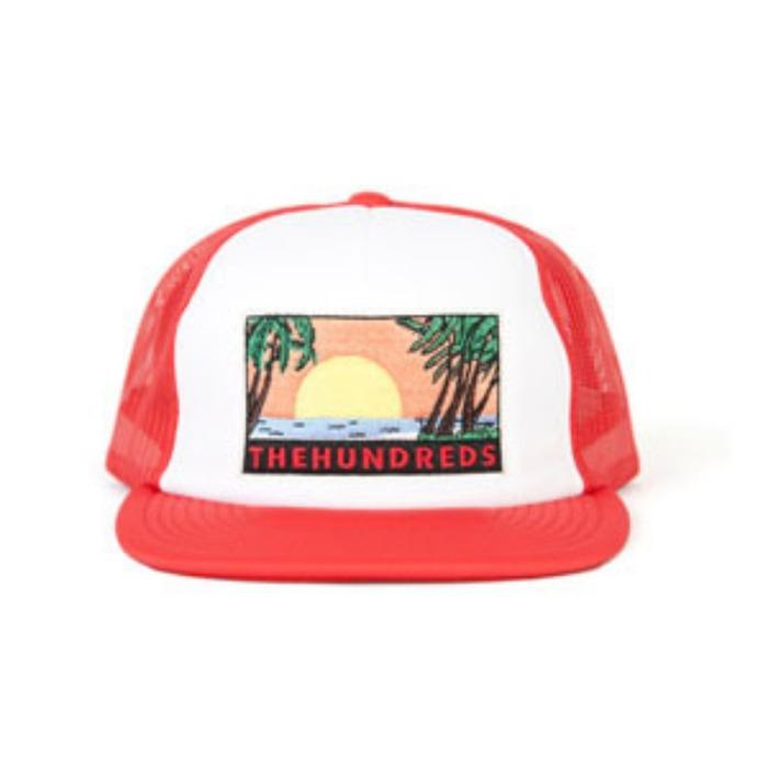 [더헌드레드]THE HUNDREDS GLASSY CAP [2] - 풋셀스토어