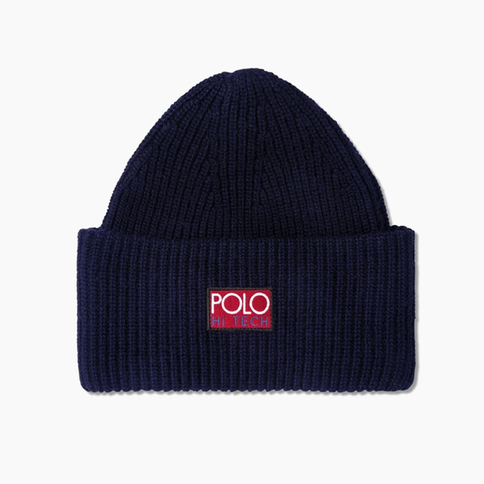 [폴로] POLO Polo Hi-Tech Beanie Navy, 비니 - 풋셀스토어