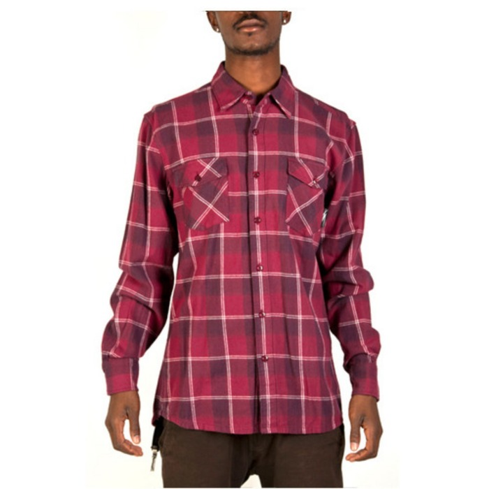 [더헌드레드]THE HUNDREDS BRAWNY FLANNEL SHIRTS [2] - 풋셀스토어