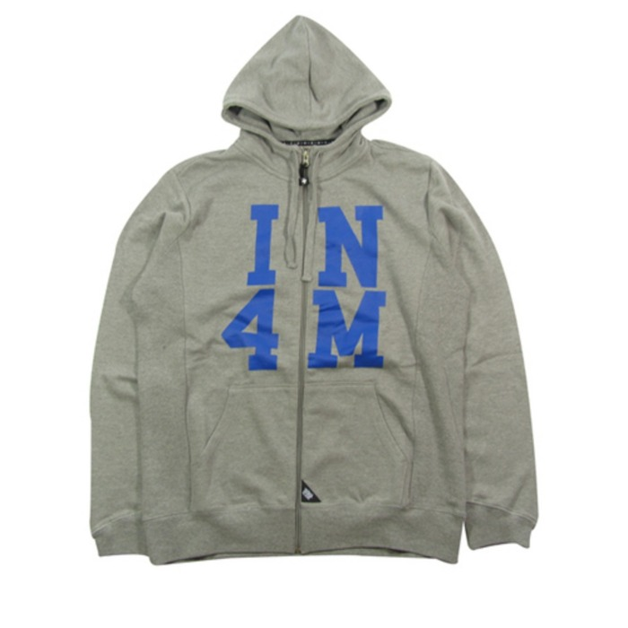 [유에스에이머천다이징]U.S.A MERCHANDISING IN4MATION ELDRIDGE ZIP HOOD [2] - 풋셀스토어