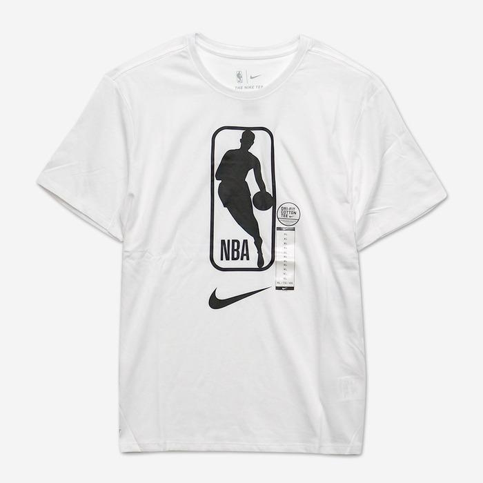 [해외] 나이키 NBA 로고 드라이핏 반팔티(화이트), NIKE NBA DRY TEE SS TEAM 31 - 풋셀스토어