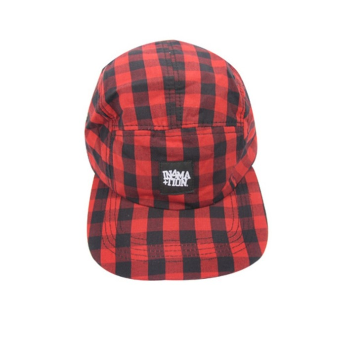[유에스에이머천다이징]U.S.A MERCHANDISING IN4MATION CHERRY 5 PANEL HAT - 풋셀스토어