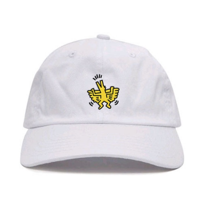 [애니메메스]ANY MEMES Flying dog STRAPBACK (WHITE) - 풋셀스토어