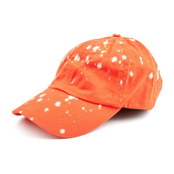 [애니메메스]ANY MEMES SPLATTER STRAPBACK (ORANGE) - 풋셀스토어
