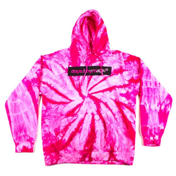 [유에스에이머천다이징]U.S.A MERCHANDISING DOPE.BOY.MAGIC TIE DYE HOODIE [2] - 풋셀스토어