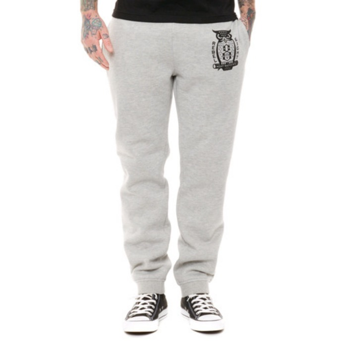 [레벨에잇]REBEL8 NIGHT WATCH Sweatpant (HEATHER GREY) - 풋셀스토어