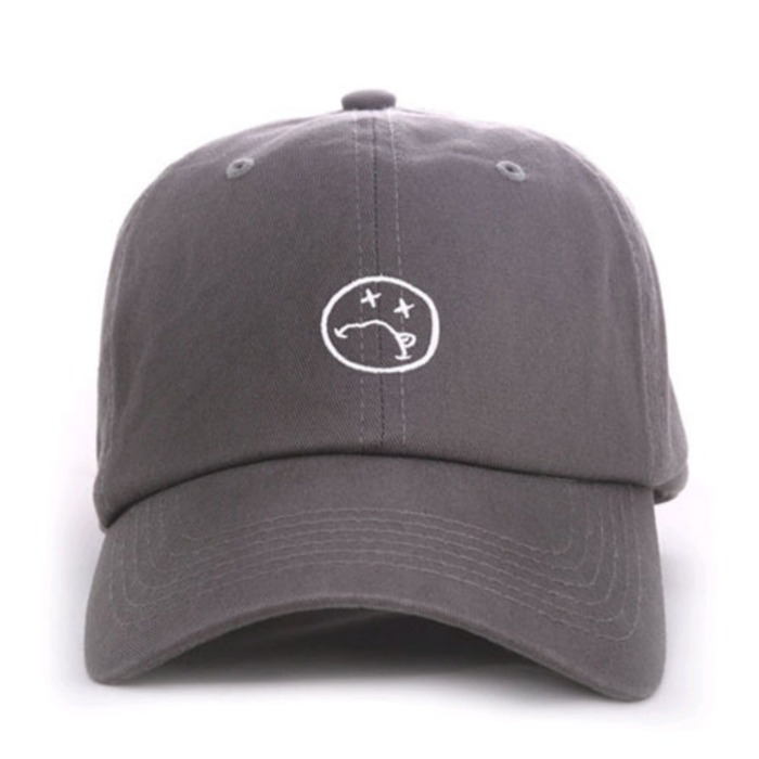 [애니메메스]ANY MEMES ILL FACE STRAPBACK (GREY) - 풋셀스토어