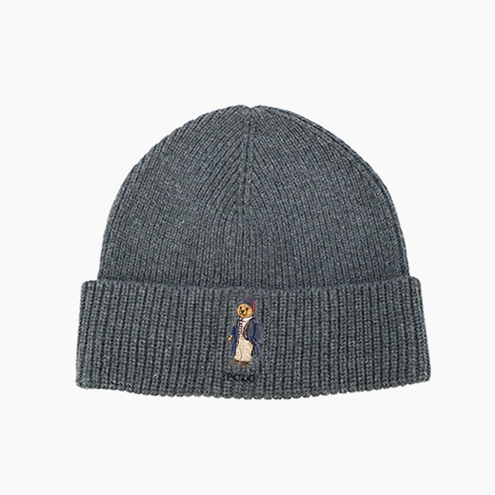 [폴로] POLO Polo Bear Beanie Toggle Bear(Charcoal), 비니 - 풋셀스토어