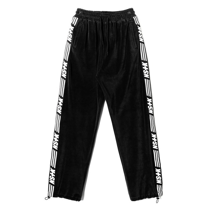 네스티킥, [NK] NSTK VELOURS PANTS BLACK (NK18A067H) - 풋셀스토어