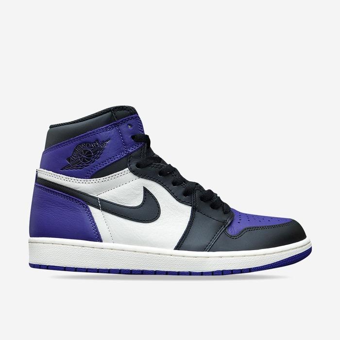 에어조던1 레트로 퍼플토, Nike Air Jordan 1 Retro High OG, 555088-501 - 풋셀스토어