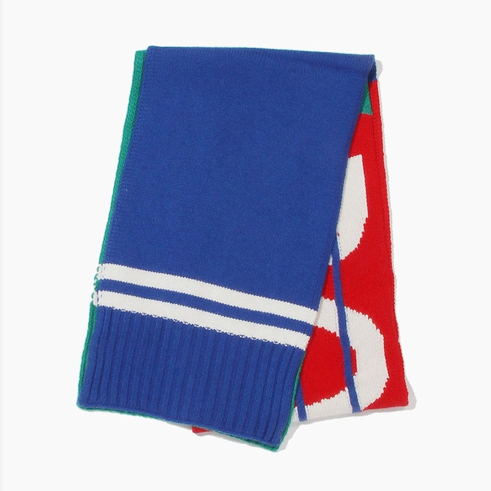 [폴로] POLO Bring It Back Stadium Scarves Green Multi, 스카프, 목도리 - 풋셀스토어