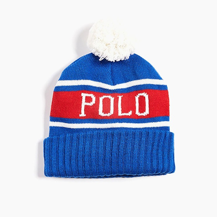 [폴로] POLO Polo USA Stadium Hats Royal, 비니 - 풋셀스토어