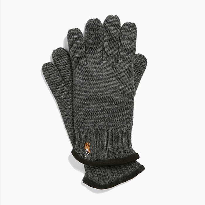 [폴로] POLO Classic Lux Merino Glove W.Heather, 장갑 - 풋셀스토어