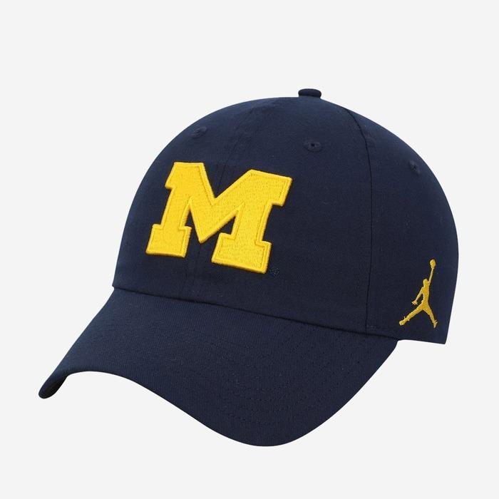 조던 x 미시간 헤리티지 86 볼캡, Jordan x Michigan Heritage 86 Cap - 풋셀스토어