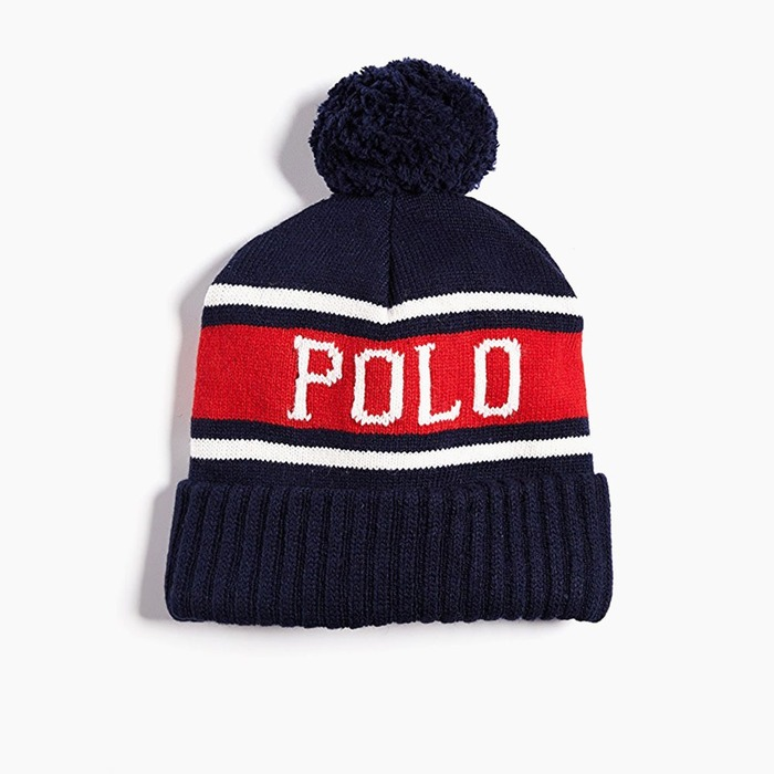 [폴로] POLO Polo USA Stadium Hats Navy, 비니 - 풋셀스토어