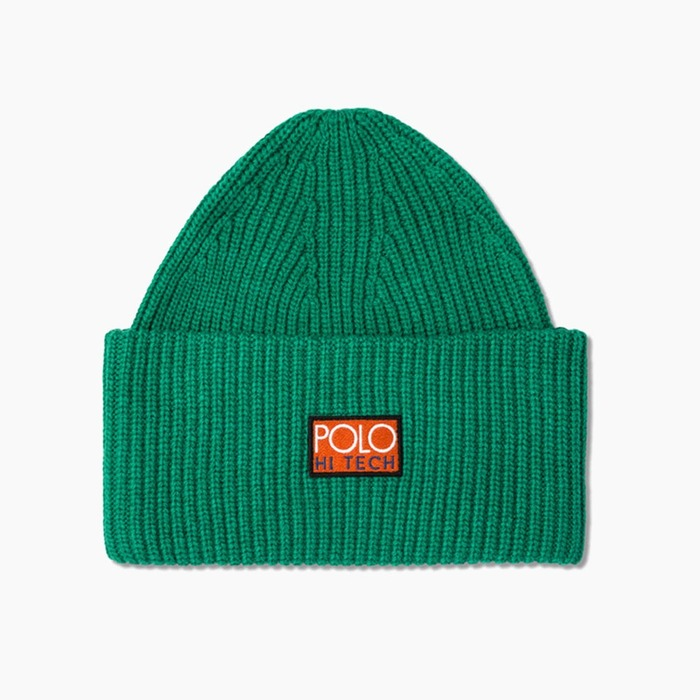[폴로] POLO Polo Hi-Tech Beanie Green, 비니 - 풋셀스토어