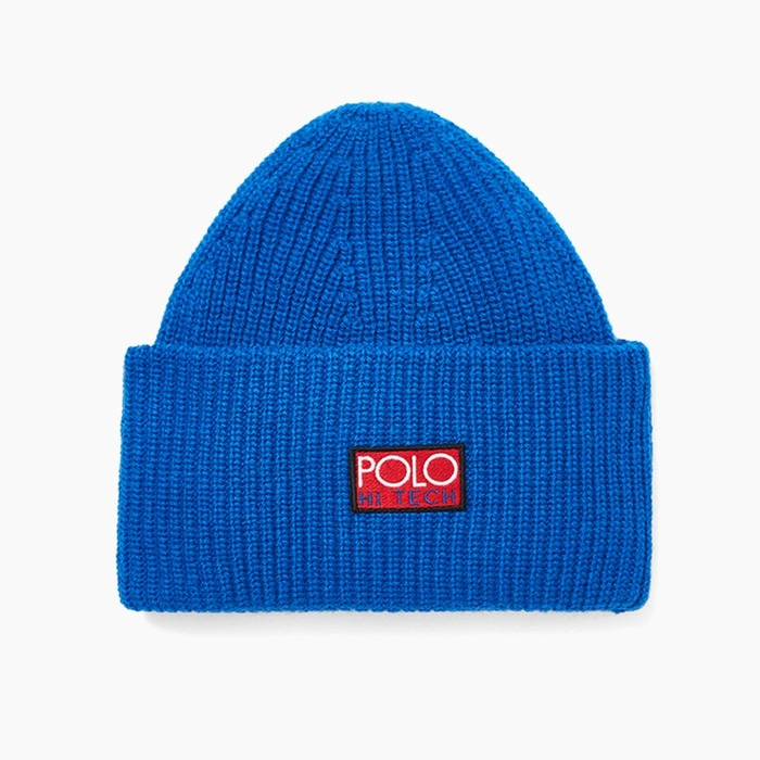 [폴로] POLO Polo Hi-Tech Beanie Royal, 비니 - 풋셀스토어