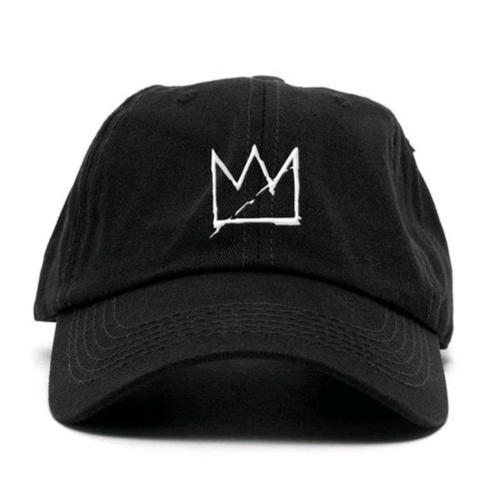 [애니메메스]ANY MEMES CROWN STRAPBACK (BLACK) - 풋셀스토어