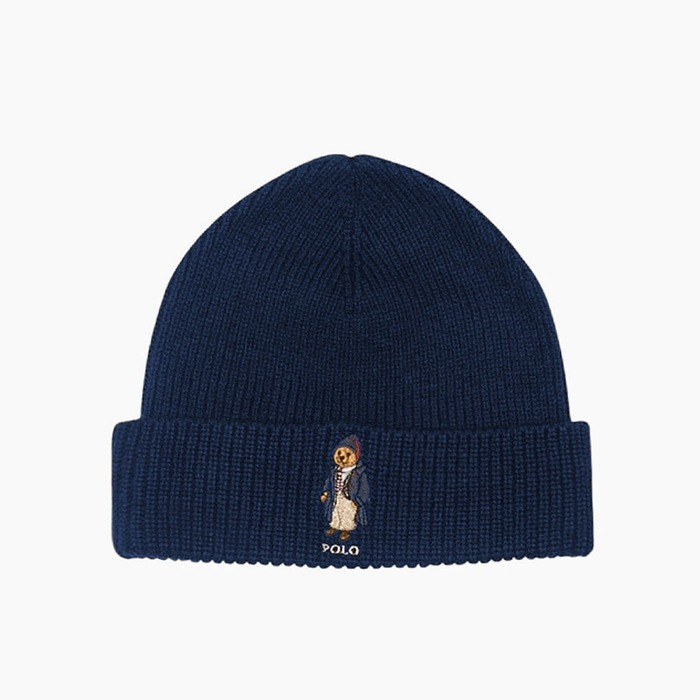 [폴로] POLO Polo Bear Beanie Toggle Bear(Navy), 비니 - 풋셀스토어