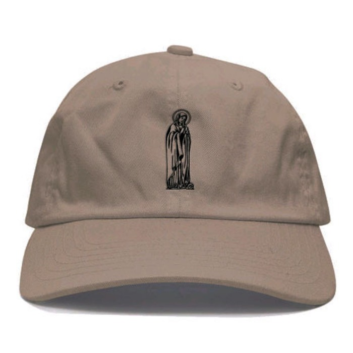 [애니메메스]ANY MEMES Mother mary STRAPBACK (KHAKI) - 풋셀스토어