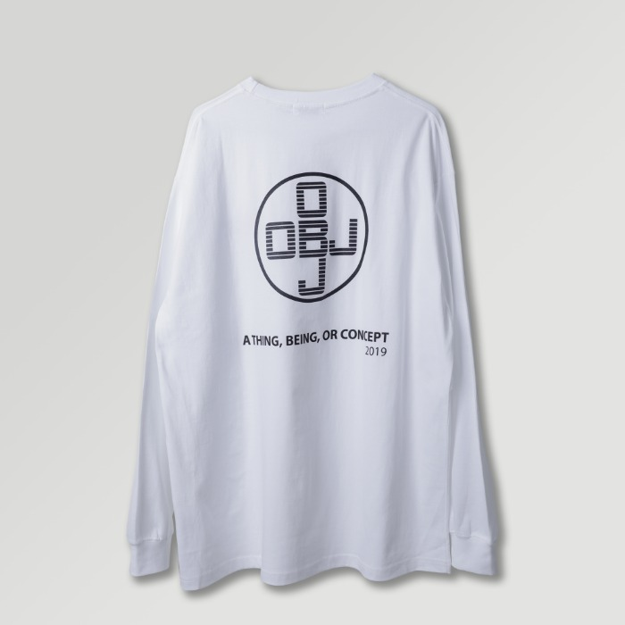 오브젝트 OBJ CONCEPT LONG SLEEVE (WHITE) - 풋셀스토어