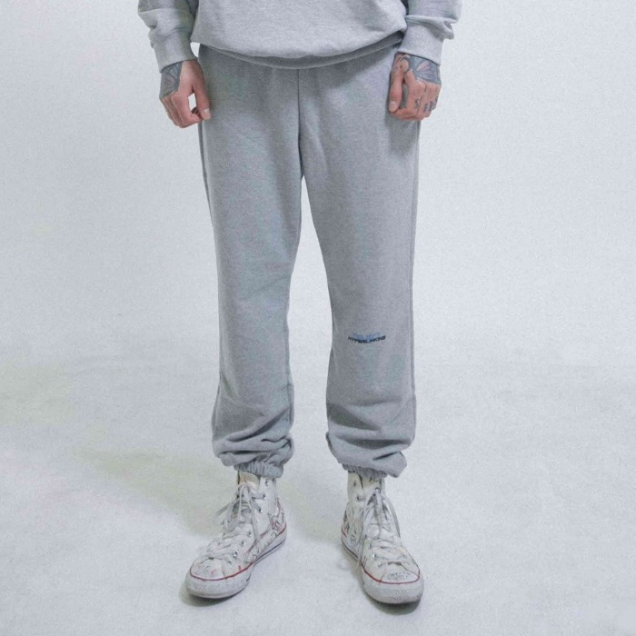 오브젝트 HYPERLINKING SWEATPANTS (GRAY) - 풋셀스토어
