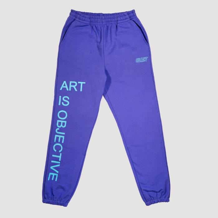 오브젝트 ART IS OBJECTIVE SWEATPANTS (PURPLE) - 풋셀스토어