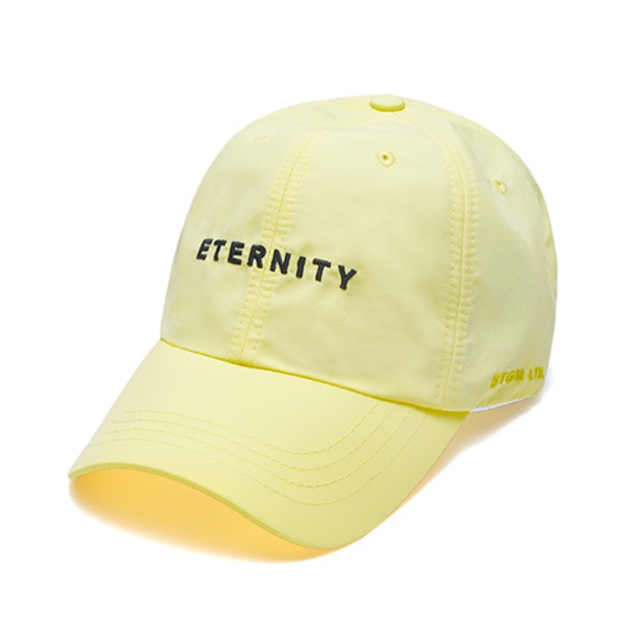 STIGMA ETERNITY BASEBALL CAP YELLOW - 풋셀스토어