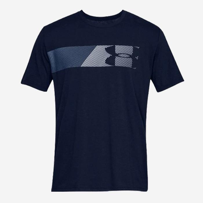 언더아머 패스트 레프트 체스트 반팔티 1329584-408 티셔츠 - 풋셀스토어