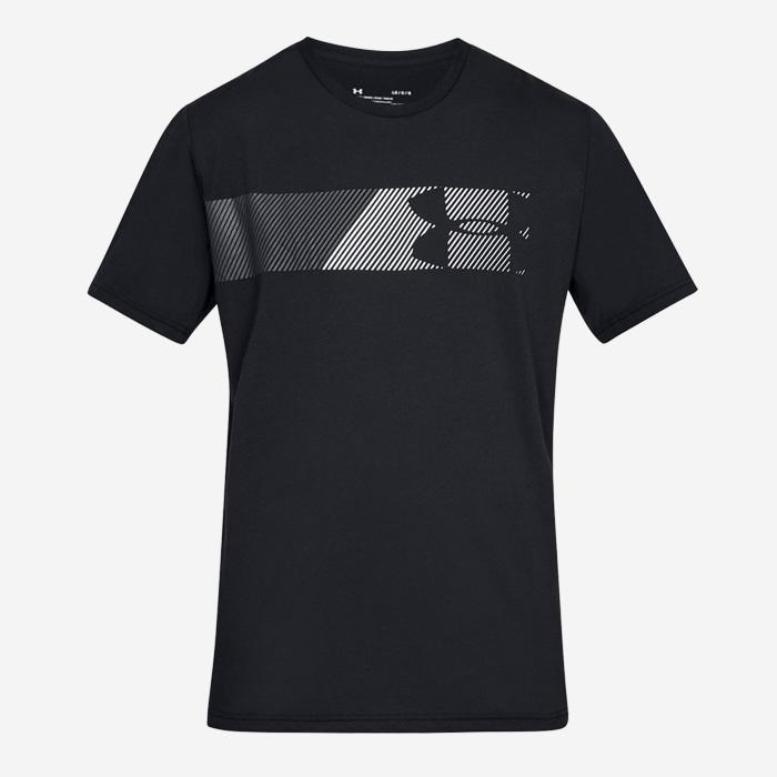 언더아머 패스트 레프트 체스트 반팔티 1329584-001 티셔츠 - 풋셀스토어