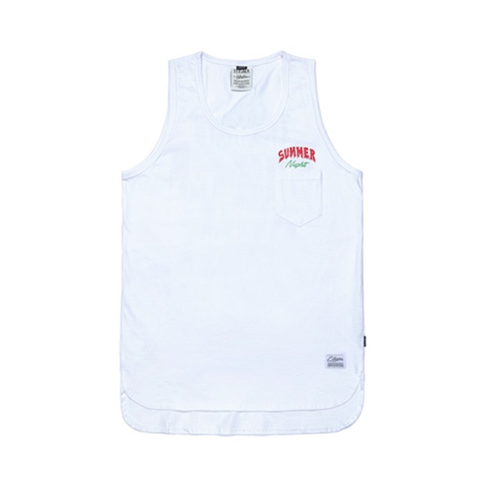 STIGMA FSNC LONG SLEEVELESS WHITE - 풋셀스토어