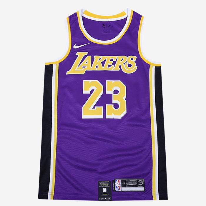 나이키 NBA LA 레이커스 르브론 제임스 스윙맨 져지 AA7097-514 농구저지 - 풋셀스토어