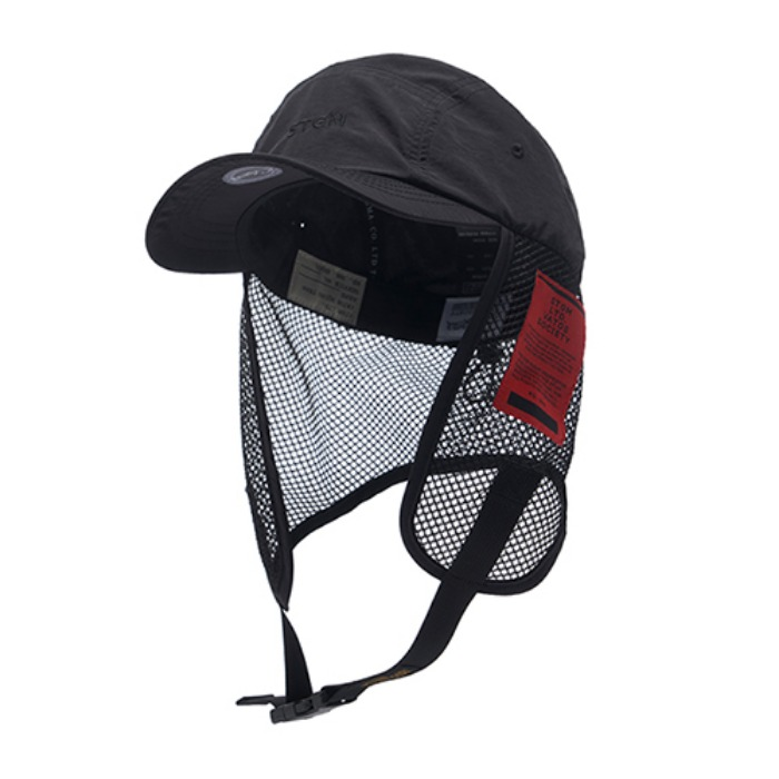 STIGMA STGM FISHING CAP BLACK - 풋셀스토어