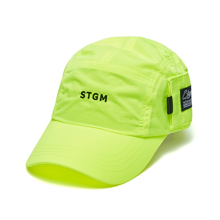 STIGMA STGM POCKET CAMP CAP NEON GREEN - 풋셀스토어