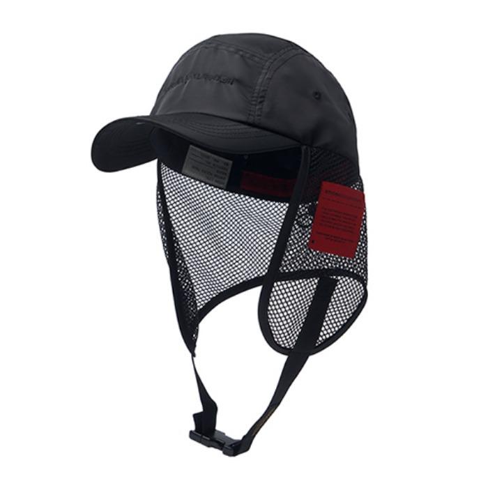 STIGMA X CALIPH ASH FISHING CAP BLACK - 풋셀스토어