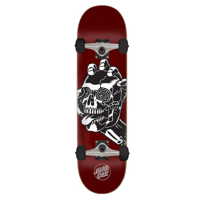 산타크루즈 스케이트보드 SCREAMING HAND SKULL COMPLETE 8.25 X 31.8 - 풋셀스토어