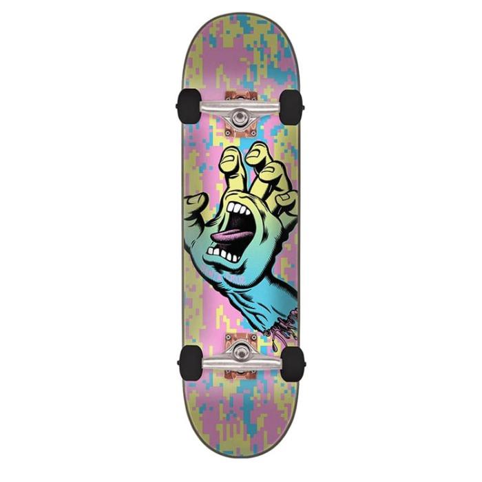 산타크루즈 스케이트보드 SCREAMING HAND CAMO COMPLETE 8.0 X 31.6 - 풋셀스토어