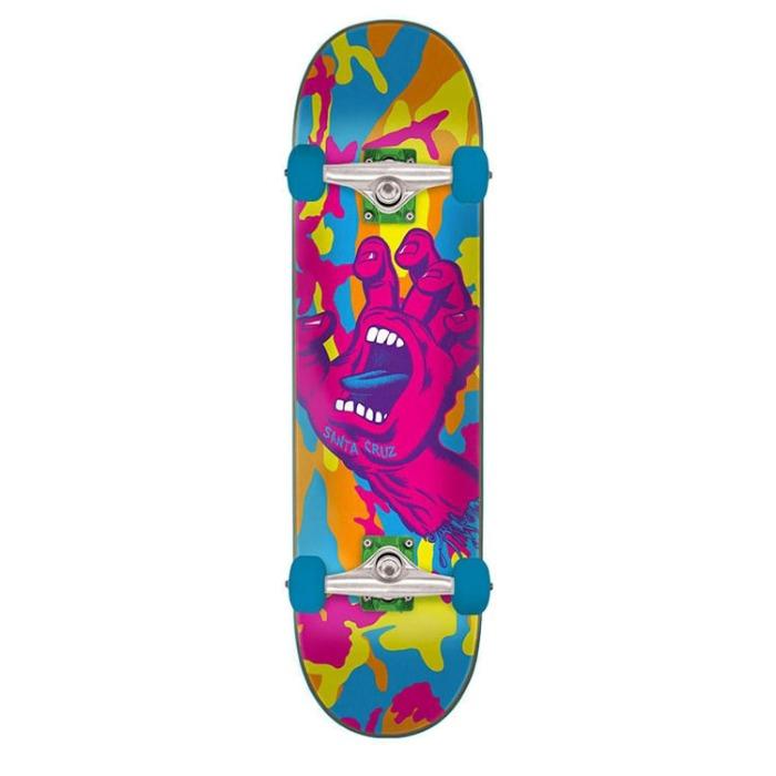 산타크루즈 스케이트보드 SCREAMING HAND CAMO COMPLETE 7.75 X 31.4 - 풋셀스토어