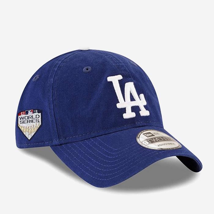 뉴에라 MLB LA 다저스 월드시리즈 패치 볼캡 - 풋셀스토어